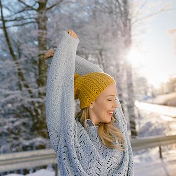 7 natürliche Tipps für Haut und Haar im Winter