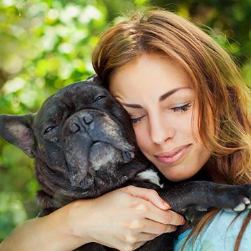 Hunde helfen Brustkrebs heilen