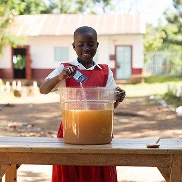 Sauberes Trinkwasser rettet Leben
