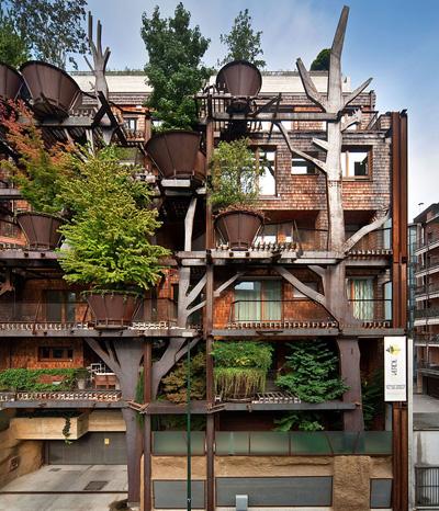 Eine grüne Oase, Stadthaus mit 150 Bäumen