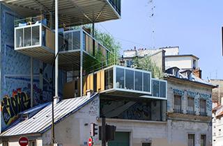 Pariser Architekt entwickelt Eco Wohnraumkonzept