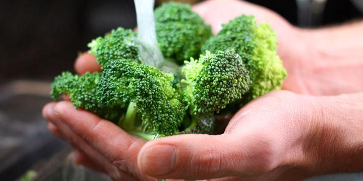 Köstliche Krebsvorsorge mit grünem Gemüse