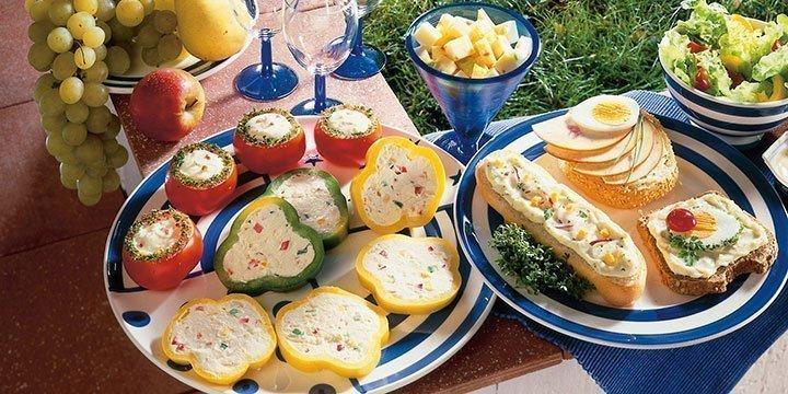 Fingerfood fürs Picknick: einfache und schnelle Rezepte für Party, Geburtstag & Co.