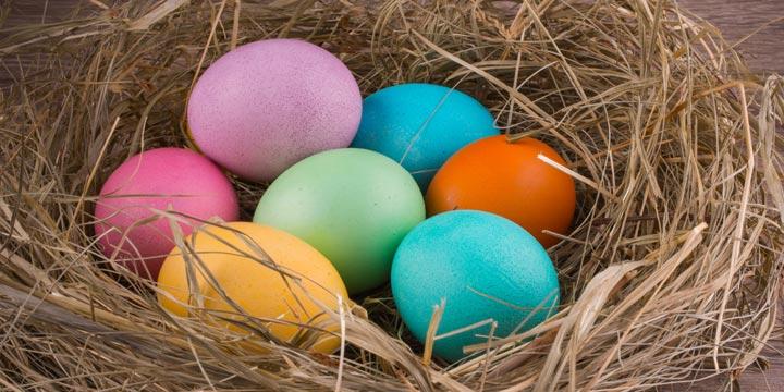 Last Minute Ostereier färben mit Naturfarben