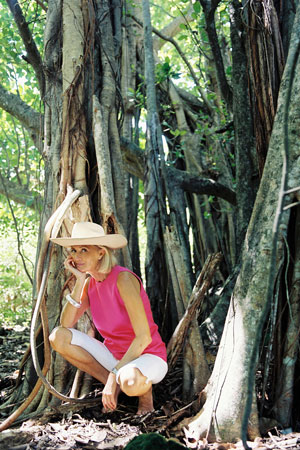 Eva Malmström schätzt Natur und Umwelt