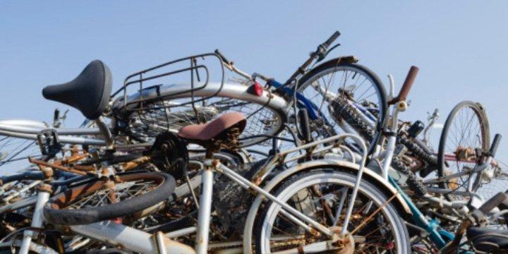 Upcycling-Kunstausstellung in Worms: Fahrrad ist Kunst