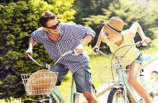Auch Radfahren wird grüner