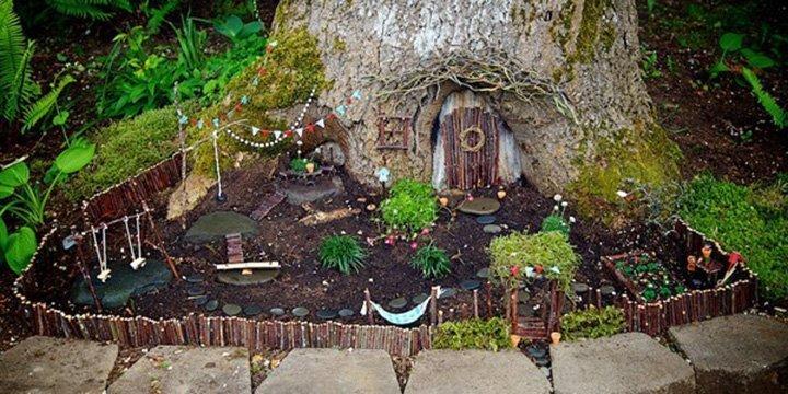 Hole dir mit diesen süßen Feengärten die Magie der Kindheit zurück