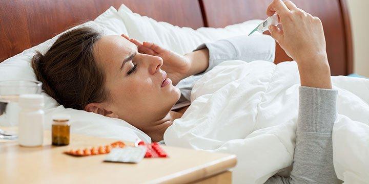 Die echte Grippe erkennen und verhindern