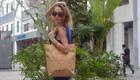 Eco-Accesoires, stylishe Handtaschen aus Papier