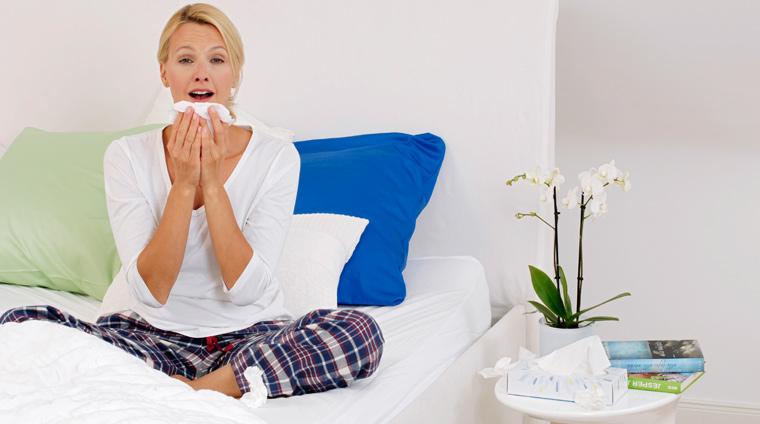 Morgens plagen Sie Nießattacken, Fließschnupfen und ein tiefsitzender Husten?