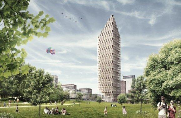 Zurück zur Natur mit nachhaltigen Wolkenkratzern aus Holz