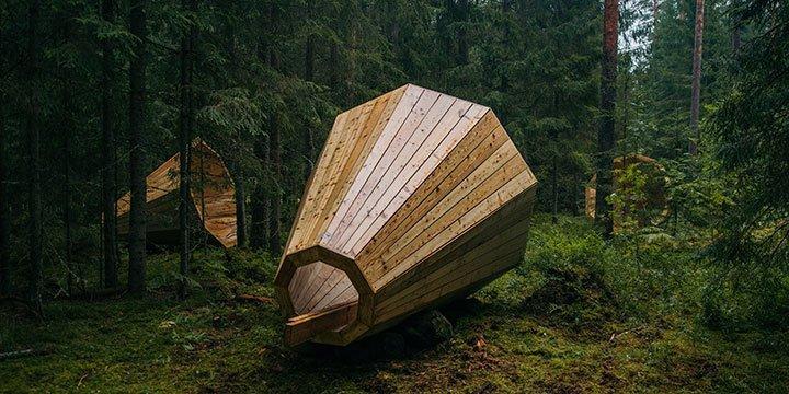 Riesen Megaphon - Einfach mal dem Wald zuhören
