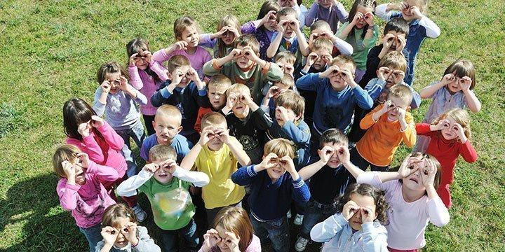 Kleine Kids ganz groß im Umweltschutz