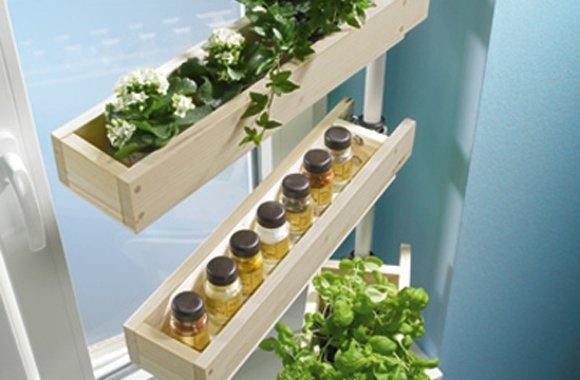 Kräutergarten für zu Hause schnell selbst gebaut