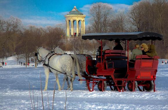 Winter Urlaub in München