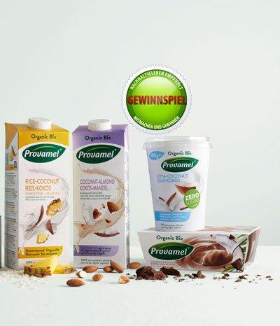 Leckere Kokos-Produkte zu gewinnen