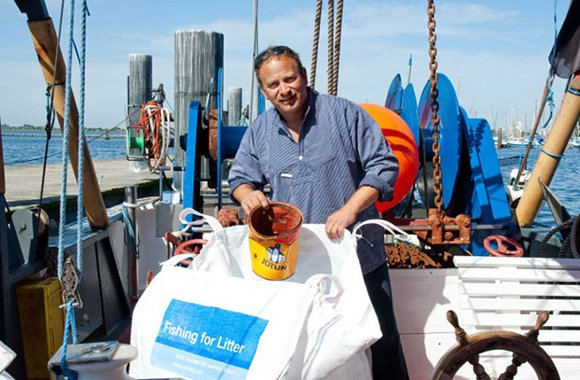Fishing for litter: Projekt gegen Plastik im Meer