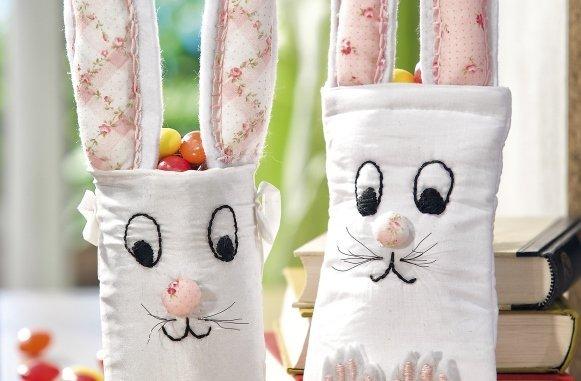 Geschenke zu Ostern: Süße Hasen selber basteln