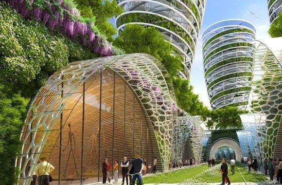 Paris 2050, Die Großstadtgärten der Zukunft