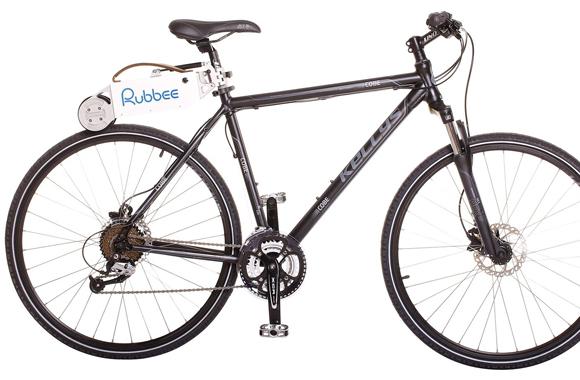 Vom Fahrrad zum E-Bike - Außenbordmotor 2.0