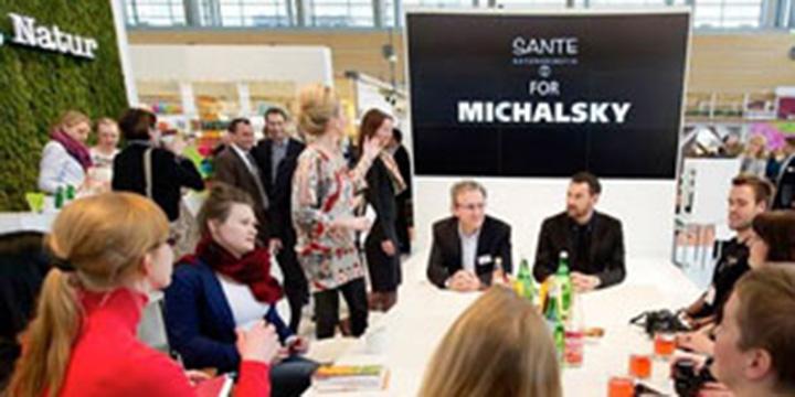 Sante und Michalsky glänzten auf Vivaness