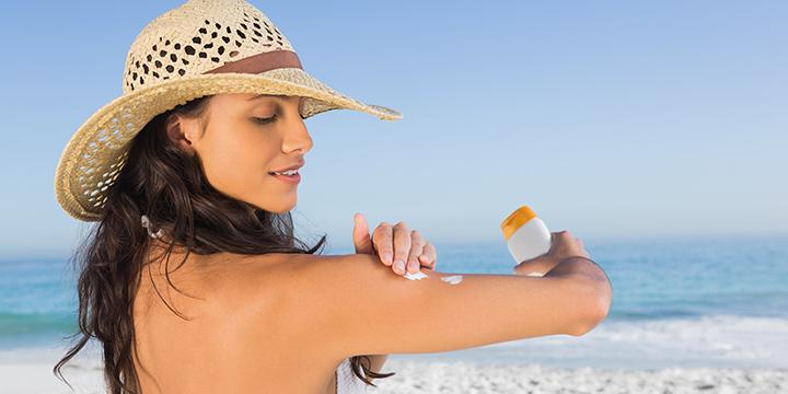 Natürlicher Sonnenschutz mit Algenextrakten