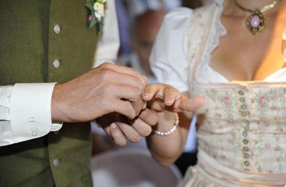 Eine ganz besondere Hochzeit mit viel Natur