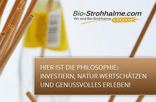Innovative Bio Strohhalme: Beteiligungschance an StartUp für Kleinanleger
