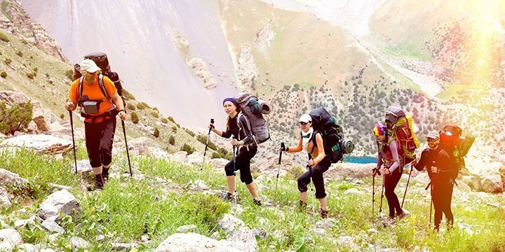 So funktionieren Gruppenwanderungen in der Natur