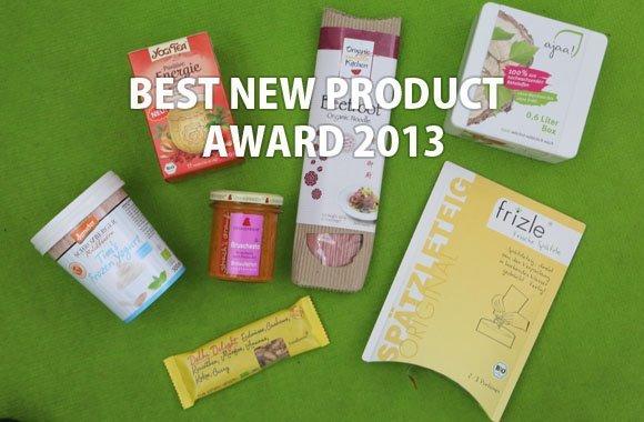 Best New Product Awards der Biofach 2013: die strahlenden Gewinner