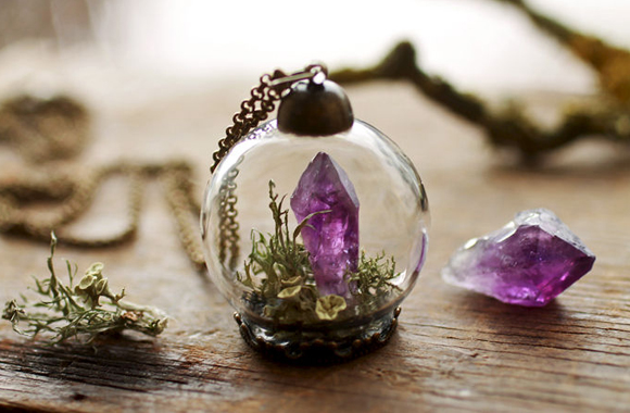 Einzigartige Blüten-Schmuckstücke