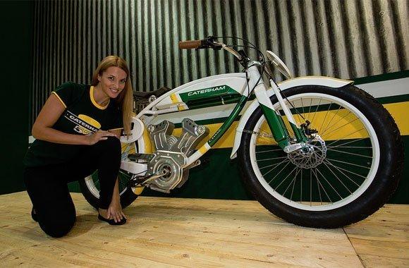 Caterham: Britische Sportwagen-Company präsentiert E-Bike Serie