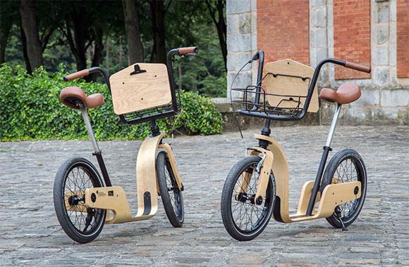 Tolles Laufrad aus Holz