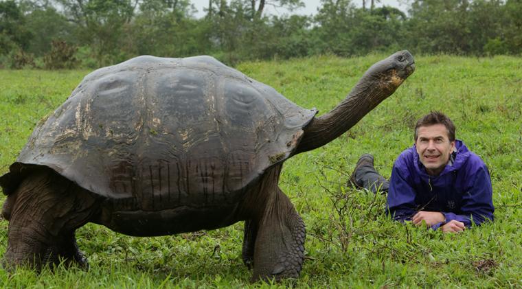 Die faszinierenden Galapagos-Schildkröten sind weltbekannt. Dirk Steffens hat sie genauer beobachtet.