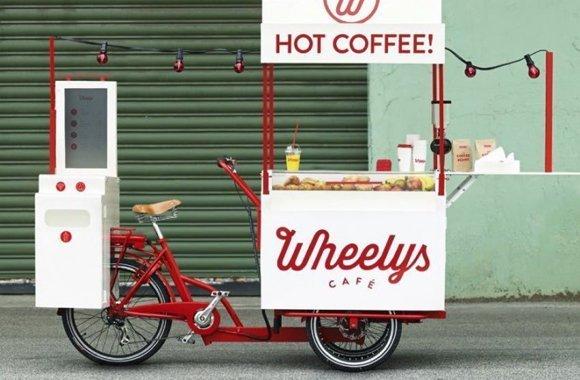 Eco Geschäftsidee: E-Dreirad als mobiler Coffeeshop