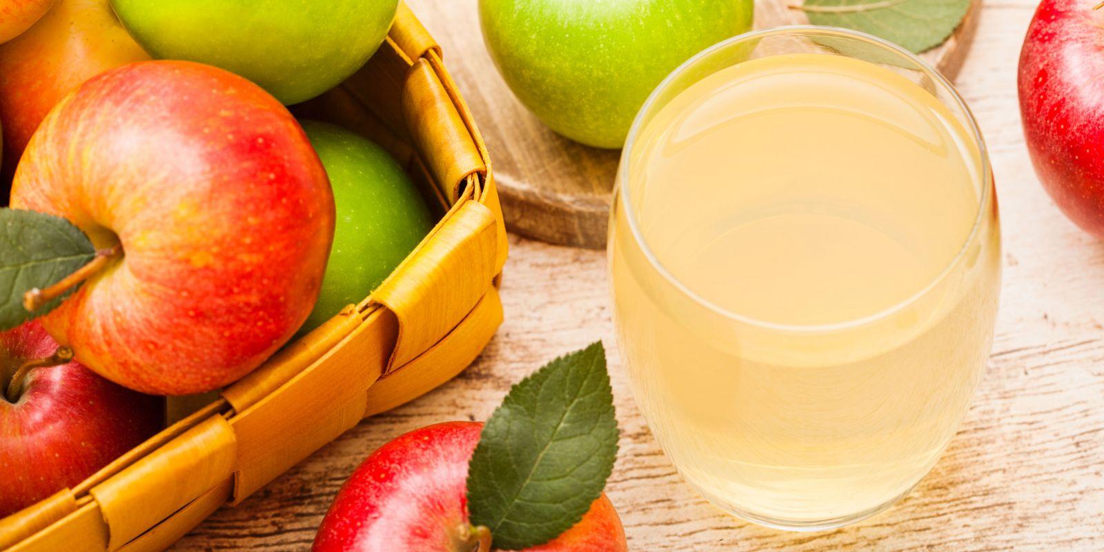 Warum Apfelsaft so gesund ist!
