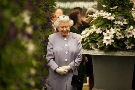 Chelsea Flower Show: Die Quenn läßt sich einen Besuch nicht nehmen.
