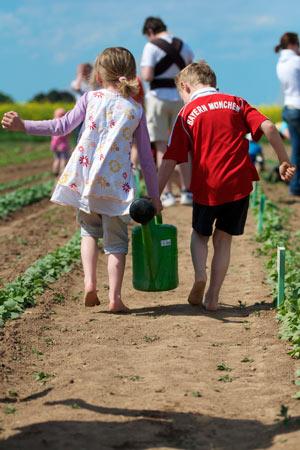 Gärtnern – ein Erlebnis für Kinder