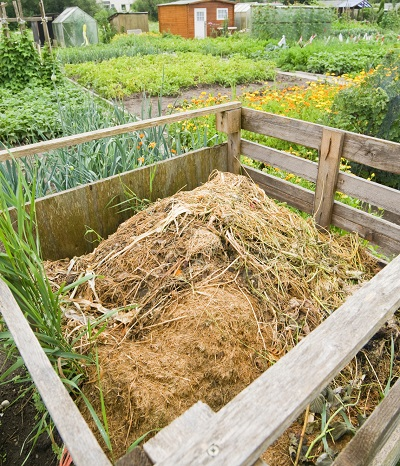 Anleitung: Komposthaufen selbst bauen