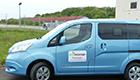 Nissan e-NV 500 istTestmobil