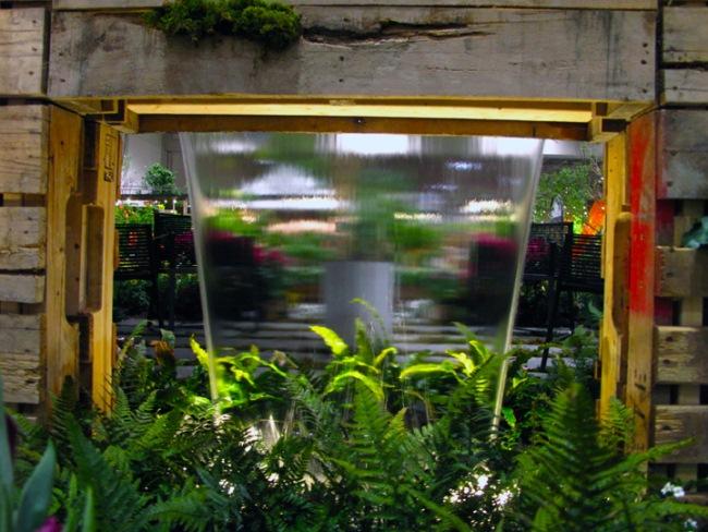 Nachhaltiger Garten mit Recycling-Paletten