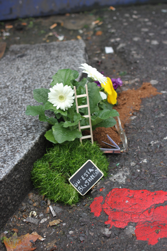 Urban Gardening des Pothole Gardener