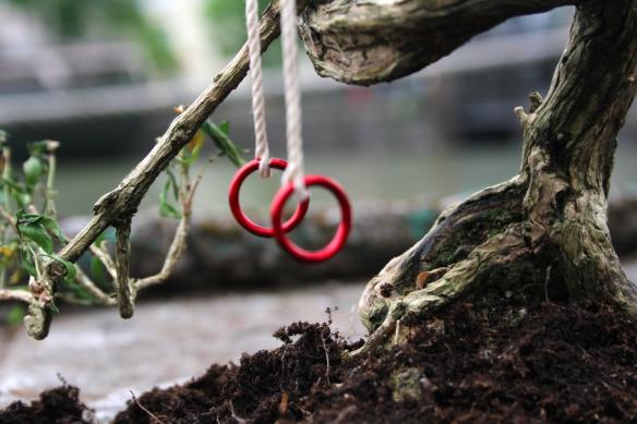 Guerilla Gardening in London: Schlaglöcher für olympische Spiele bepflanzt