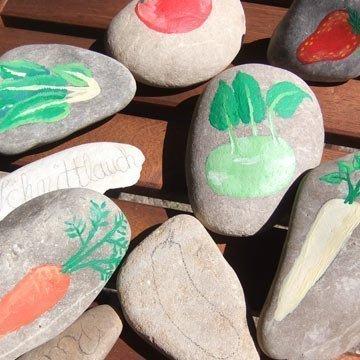 Steine bemalen: Kreative Deko für Tisch und Garten