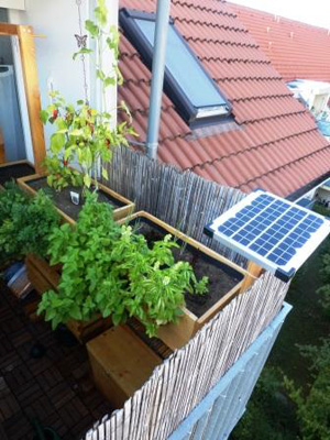 urban gardening auf dem balkon urban farming eigene. Black Bedroom Furniture Sets. Home Design Ideas