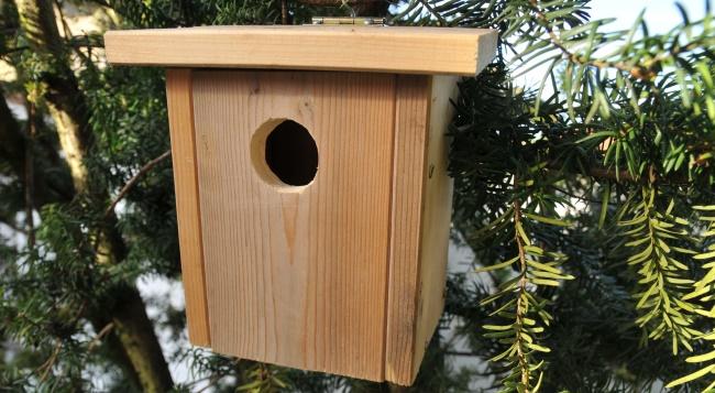 vogelhaus zum selber bauen nistkasten selber bauen aus. Black Bedroom Furniture Sets. Home Design Ideas
