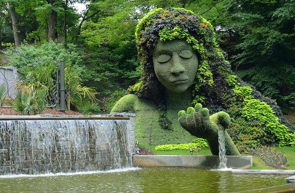 Grüner Zauberpark: Nachhaltige Gartenkunst in Montreal!