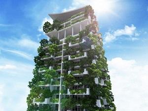 Vertikaler Garten Sri Lanka grün