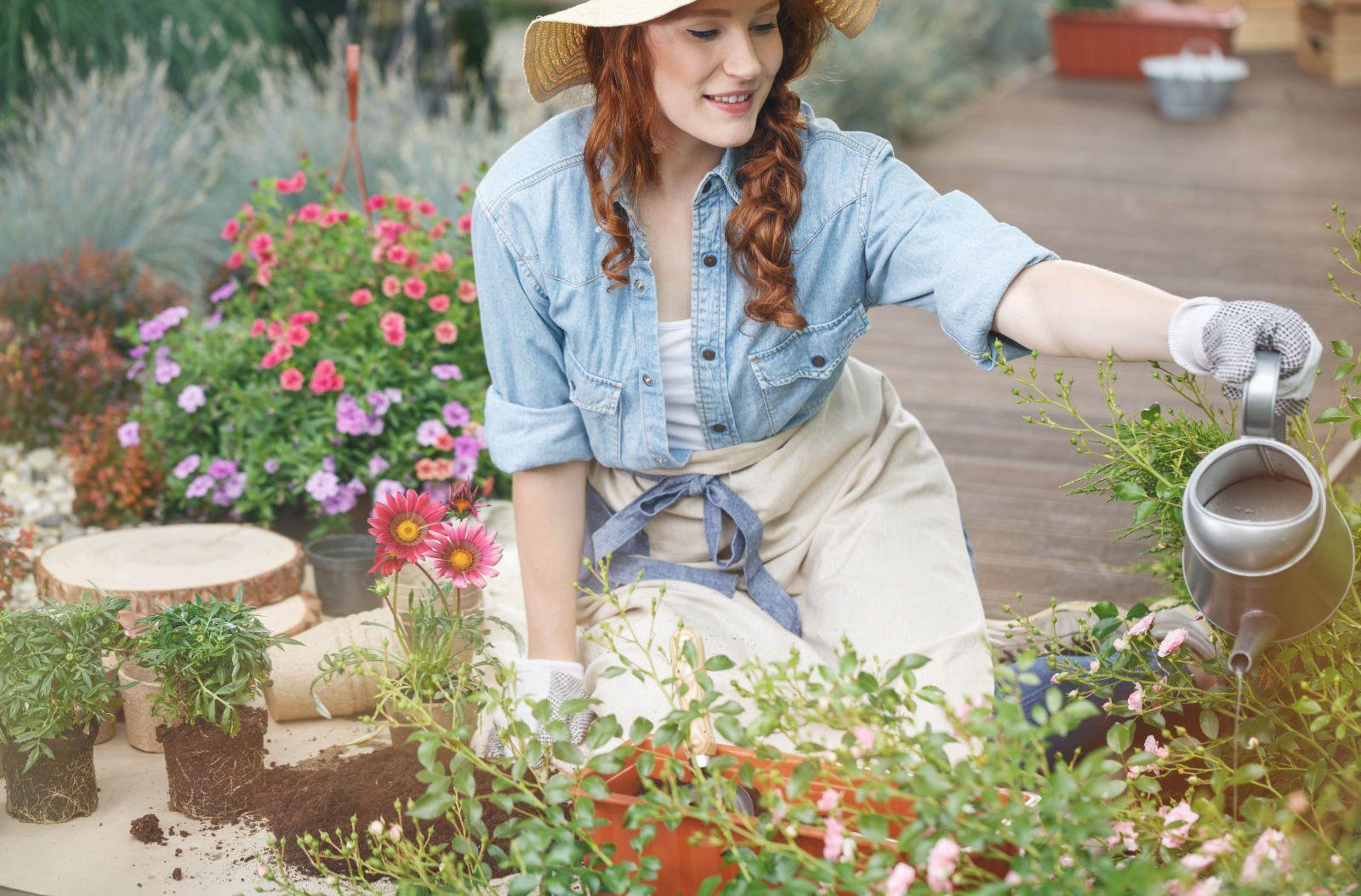 Gartenarbeit im Mai